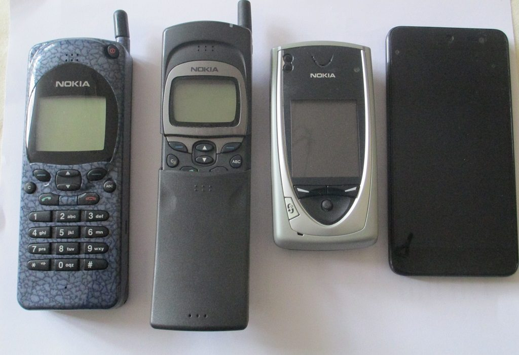 Nokia Phone to Smartphone Evolution