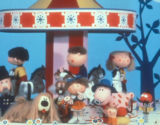 BBC cartoon programme Magic Roundabout characters