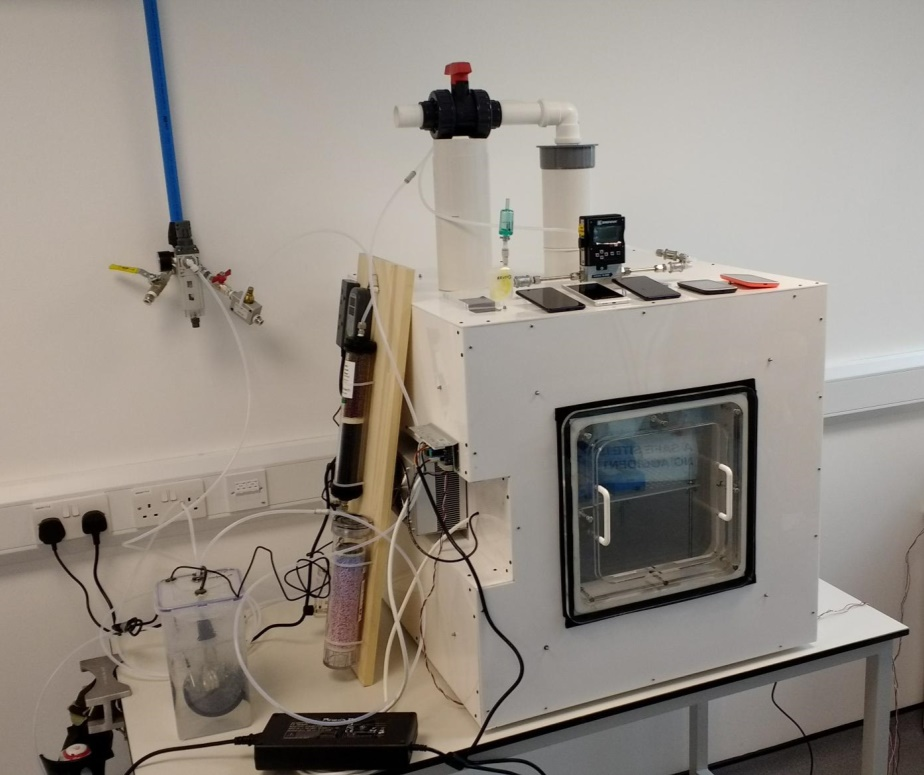 The Envilution air pollution test chamber created by the University of Surrey