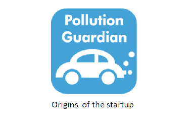 Origins of the Pollution Guardian startup